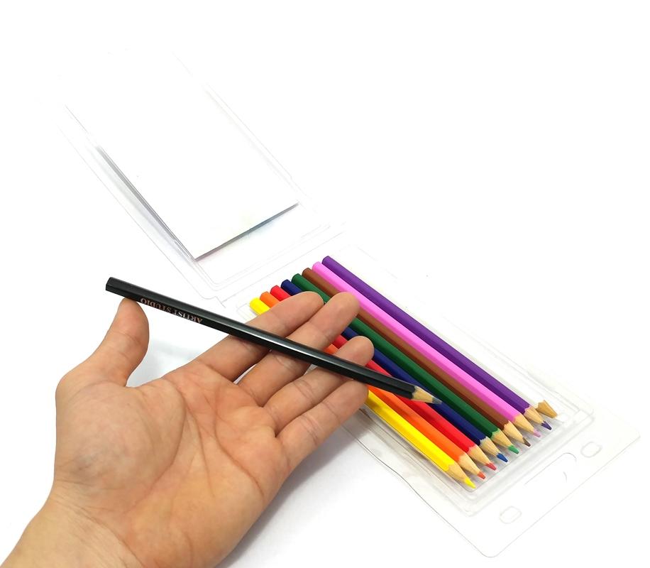 Hộp Nhựa 10 Cây Bút Chì Màu Nước Artist MS-10Art-PW