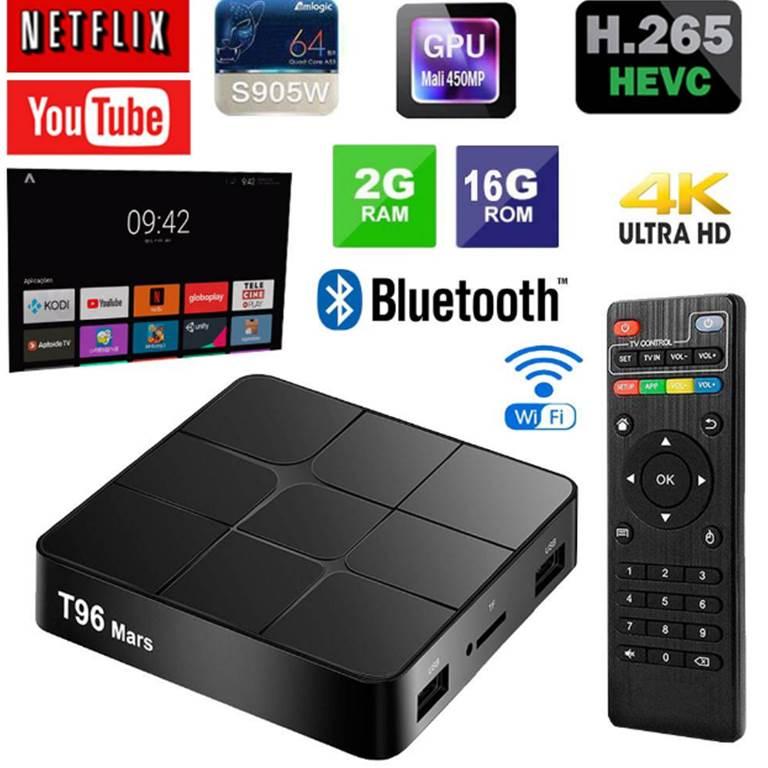 Android TV BOX Thông Minh T96 Mars