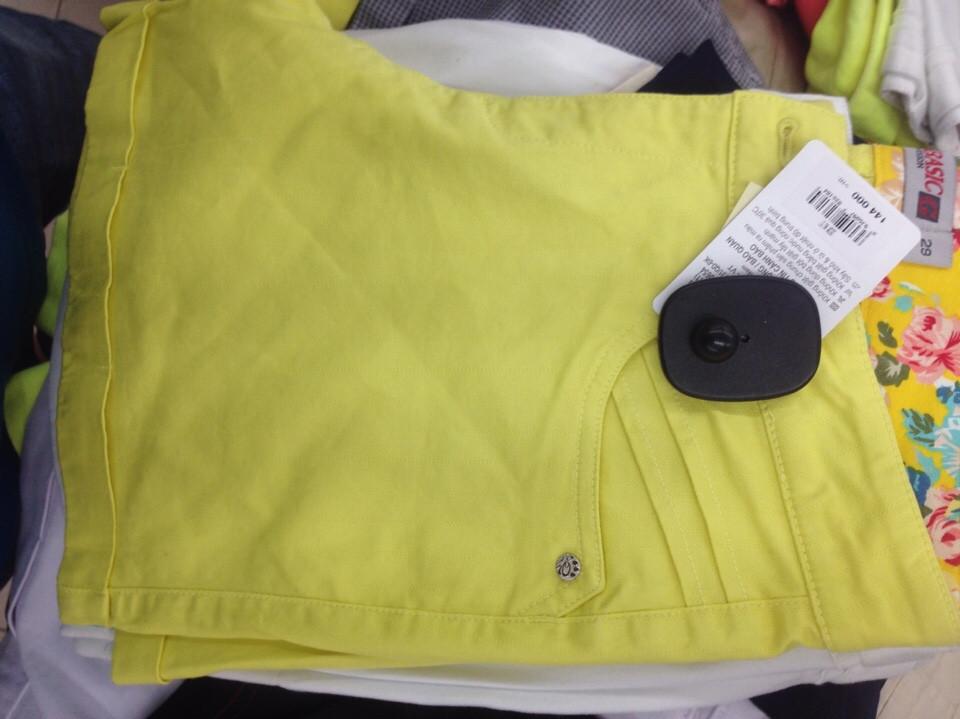 Tem từ an ninh chống trộm loại lớn cho quần áo vải sợi TC02