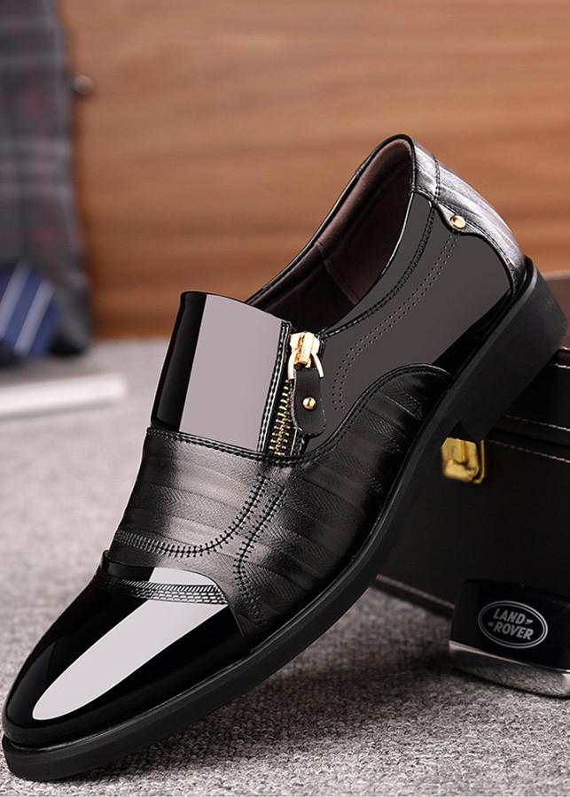 Giày tây da nam khóa kéo mẫu mới 2019 TRT-GTN-07