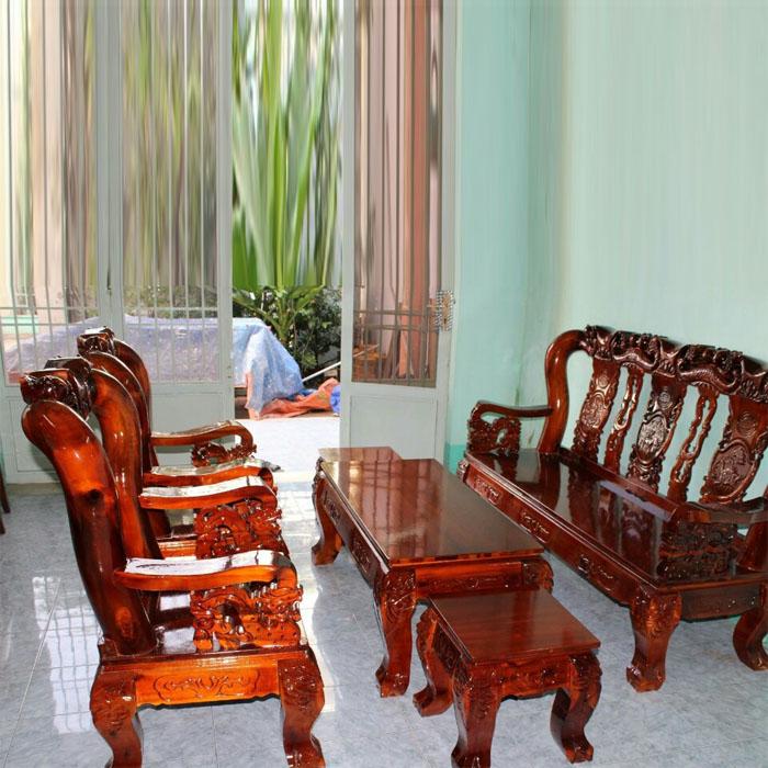 salon gỗ tràm tay 10 , bộ bàn ghế phòng khách cao cấp , bàn ghế gỗ