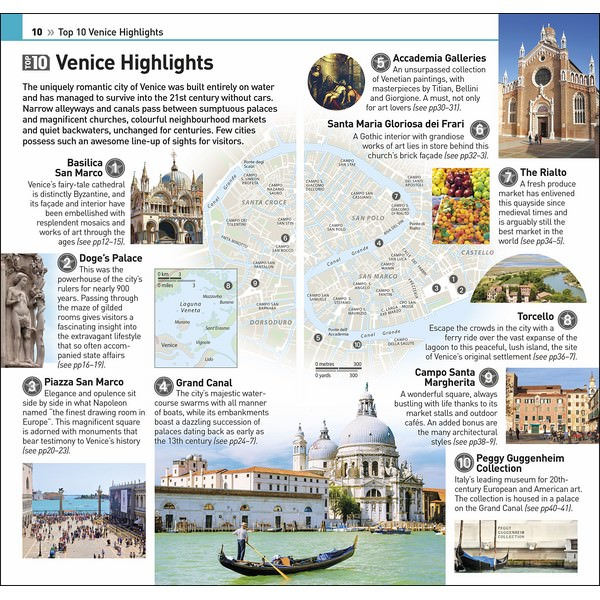 DK Eyewitness Top 10 Venice