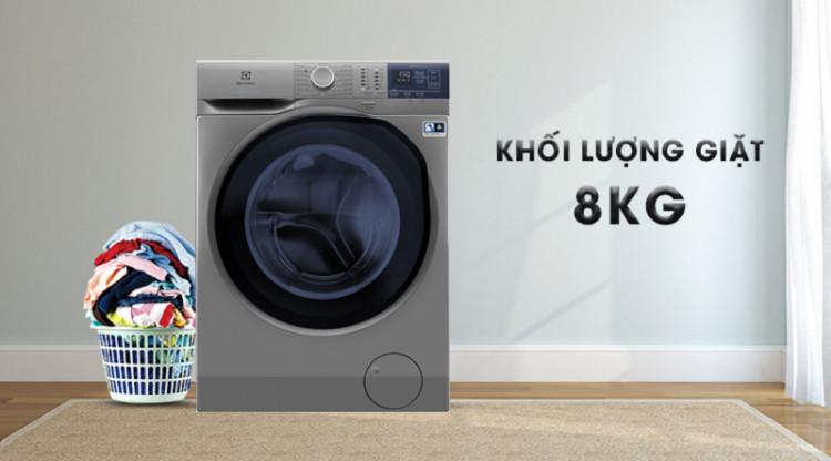 Máy giặt Electrolux EWF8024ADSA - Khối lượng giặt 8kg, thích hợp cho gia đình trên 5 người