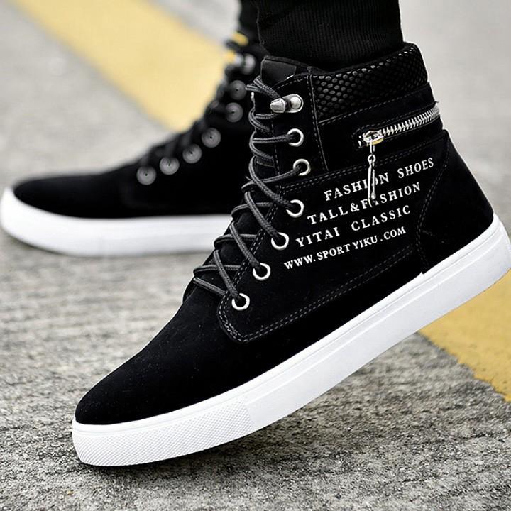 Giày cao cổ nam g527