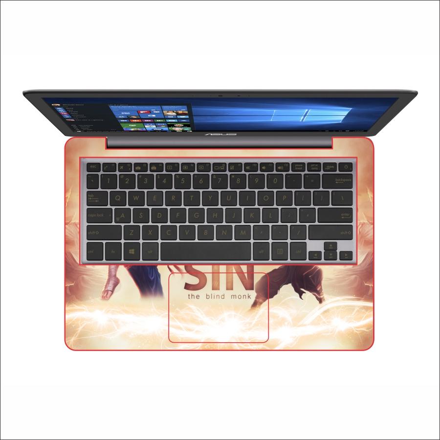 Miếng Dán Skin In Decal Dành Cho Laptop -  Leesin LMHT 3