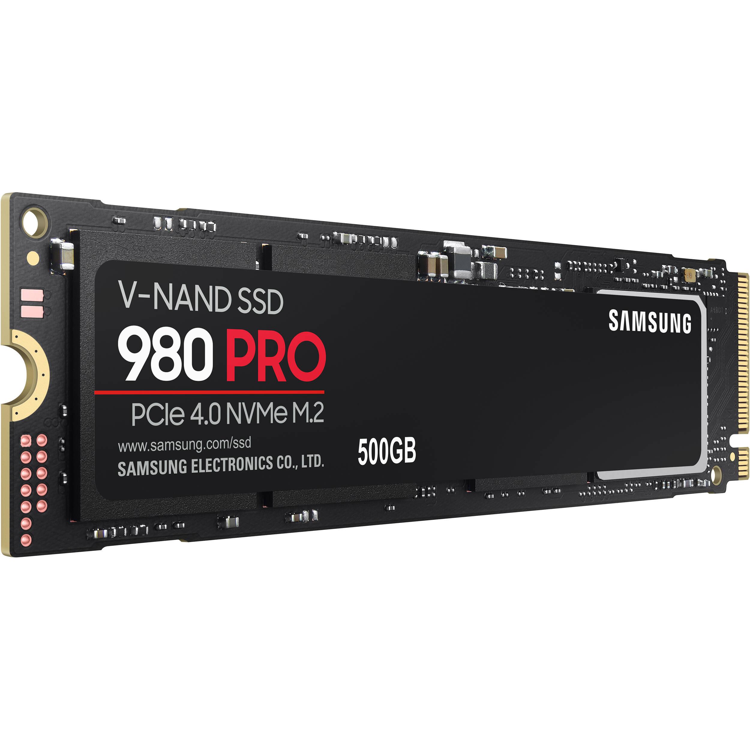 Ổ cứng SSD Samsung 980 PRO PCIe 4.0 NVMe SSD 500GB MZ-V8P500BW - Hàng Chính Hãng
