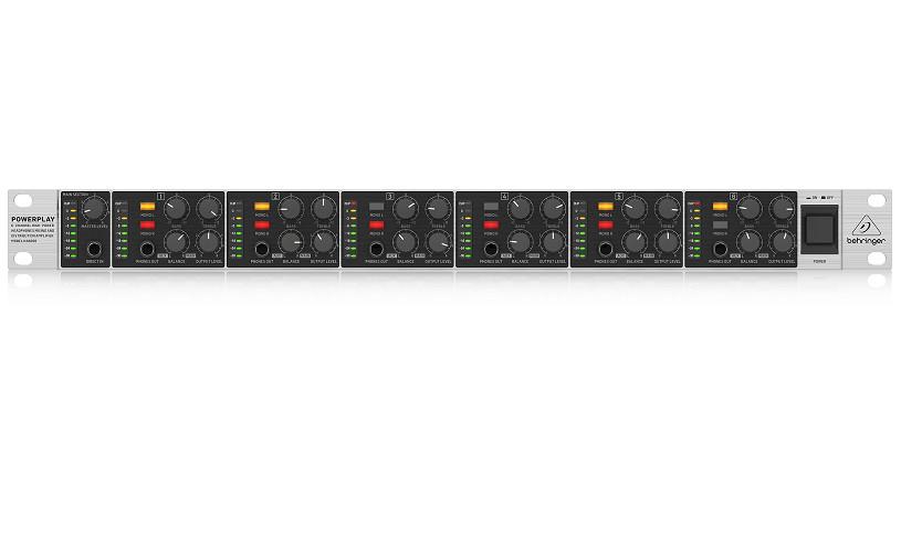 BEHRINGER HA6000 - Headphone Amplifiers- Hàng chính hãng