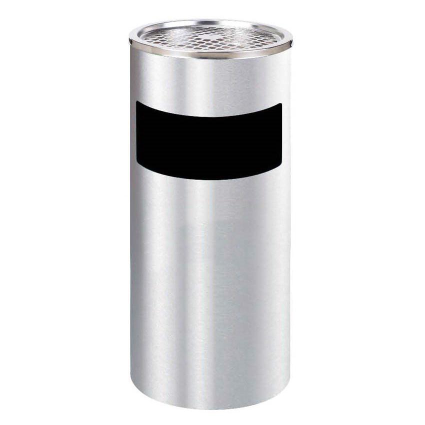 Thùng Rác Inox Gạt Tàn Thuốc  - Ø300 X 610H