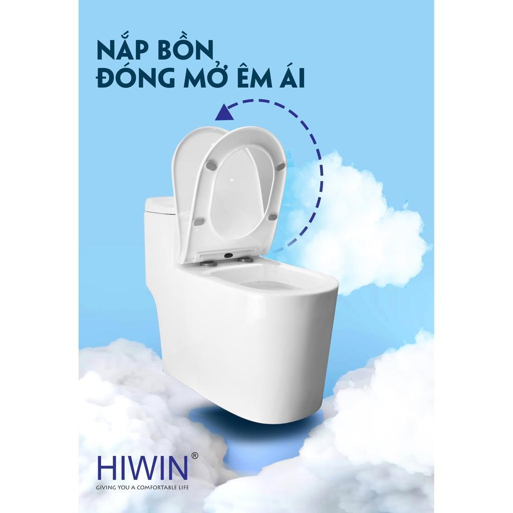 Bồn cầu nguyên khối sứ cao cấp Hiwin MT-2020UF