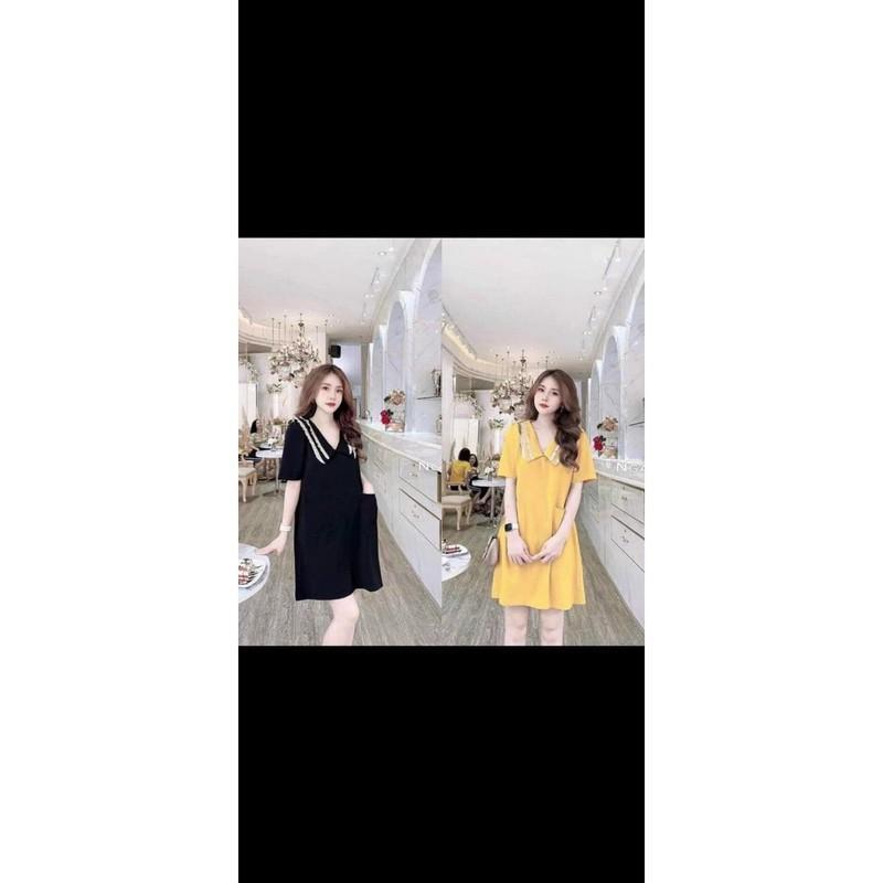 Đầm Bầu, Váy Bầu Cổ Bèo Cực Xinh, Thời Trang & Trẻ Trung, Mẫu Mới Nhất Hè
