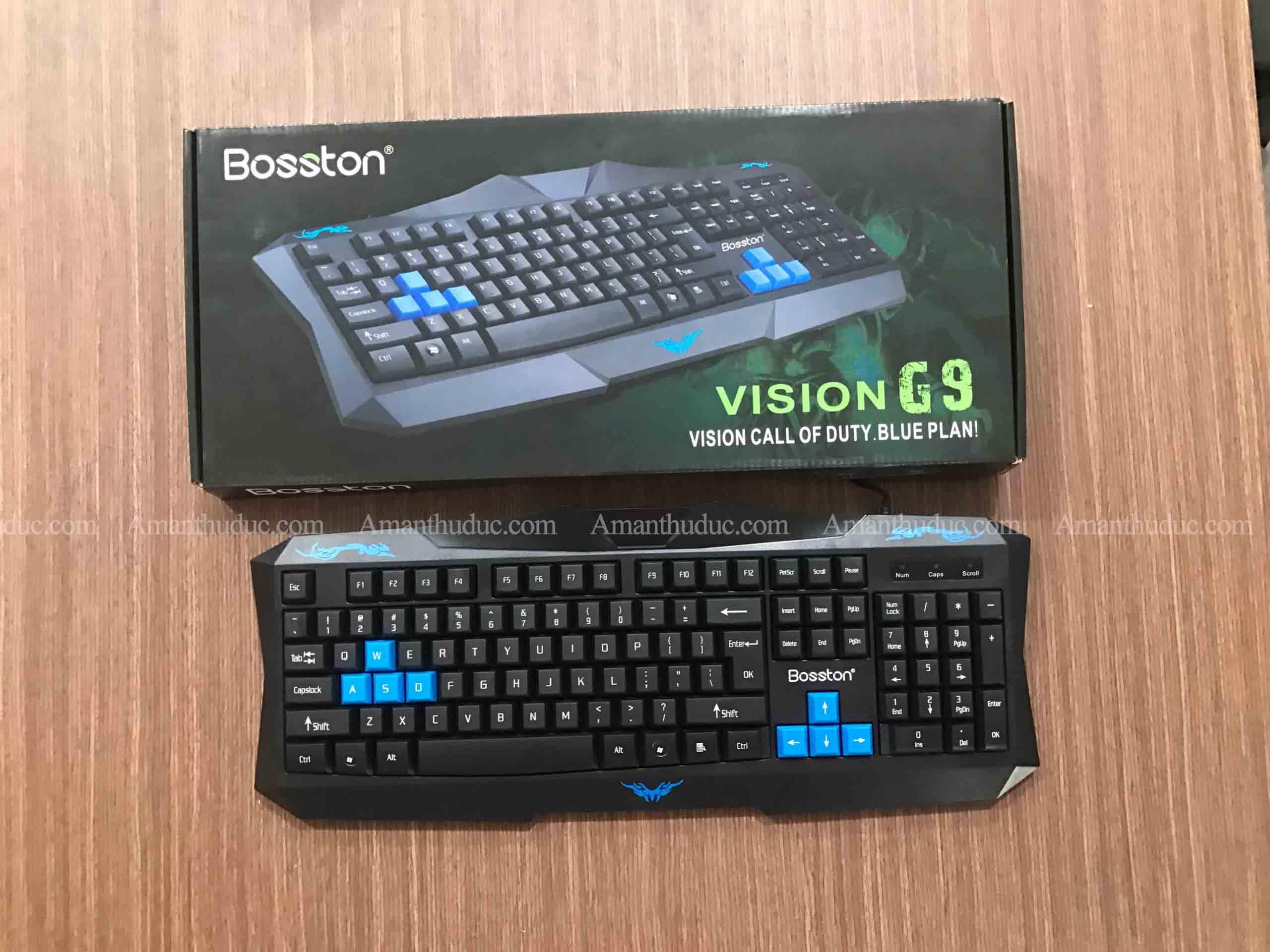 Bàn Phím Gaming VSP Keyboard Vision G9- Hàng Nhập Khẩu