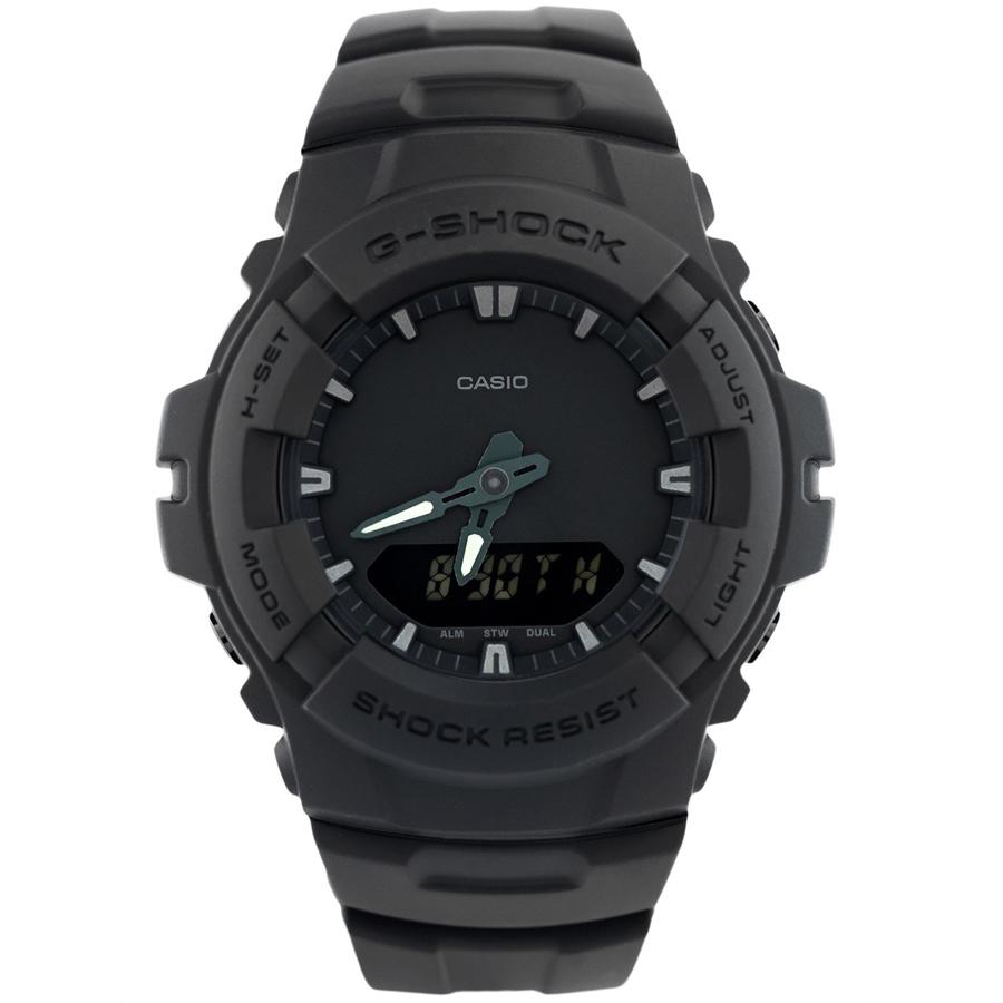 Đồng hồ nam dây nhựa Casio G-Shock chính hãng G-100BB-1ADR
