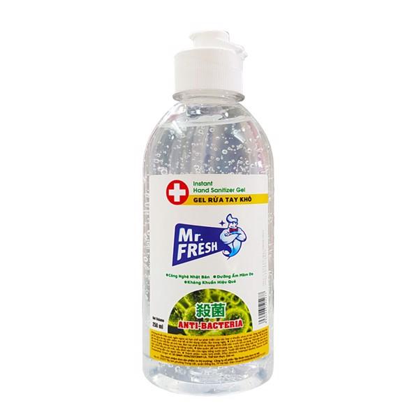 Gel rửa tay khô Mr.Fresh 250ml kháng khuẩn hiệu quả
