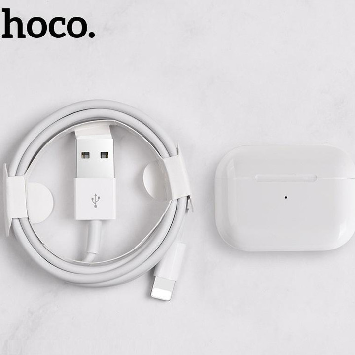 Tai Nghe Bluetooth Cảm Ứng 2 Bên TWS V5.0 Có Mic Hoco ES36 dock sạc không dây - Hàng nhập khẩu