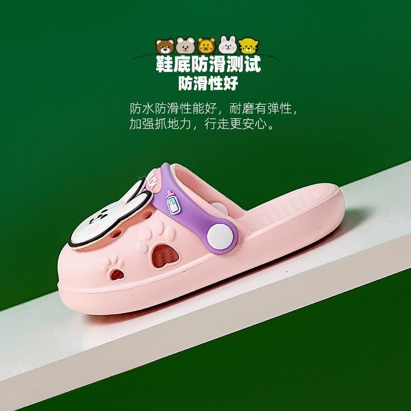 Dép sục trẻ em siêu mềm, êm chống trơn trượt cho bé trai bé gái MÃ VGR61