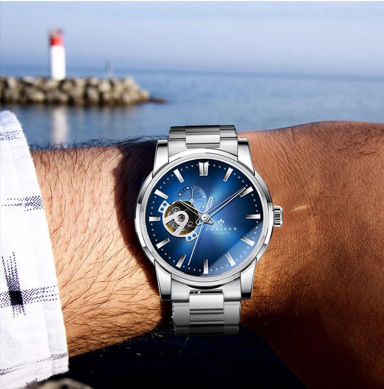 Đồng hồ nam chính hãng Poniger P5.19-5