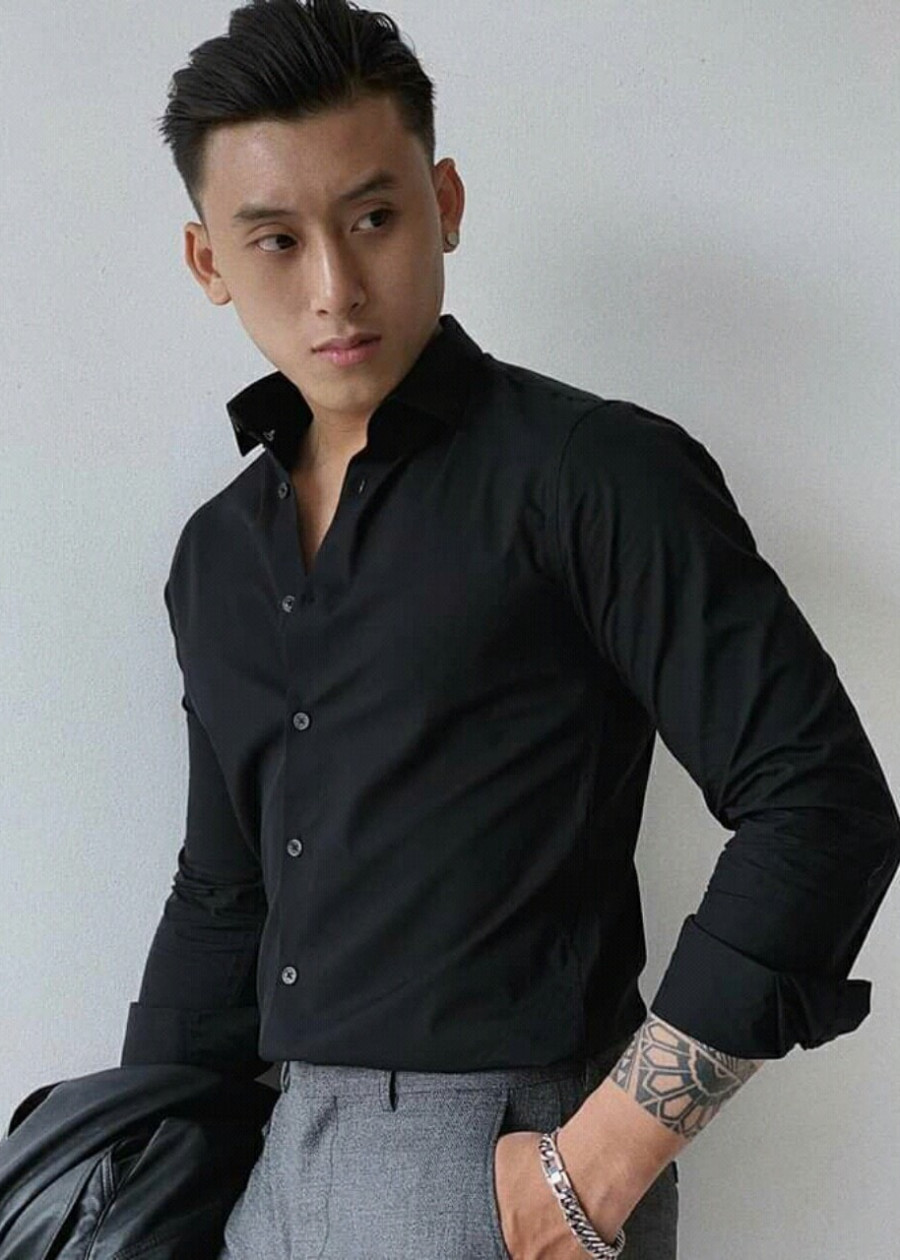 Áo Sơ Mi Nam Tay Dài Công Sở Vải Tốt Bền Đẹp
