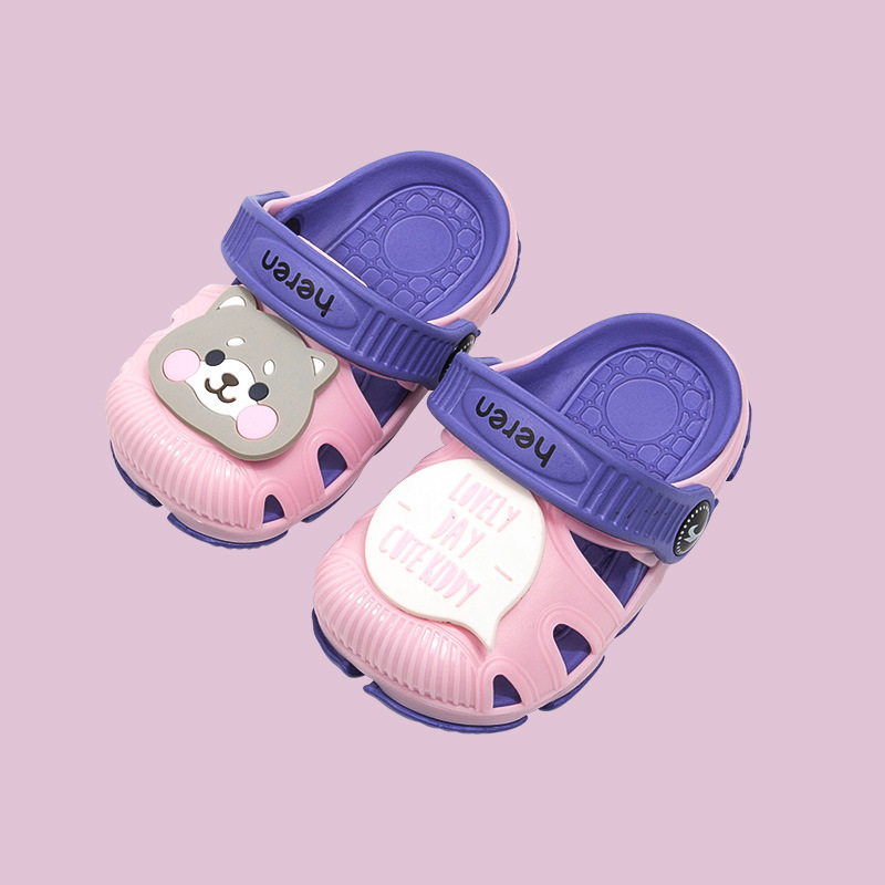 Sandal nhựa cho bé Chó Chilly