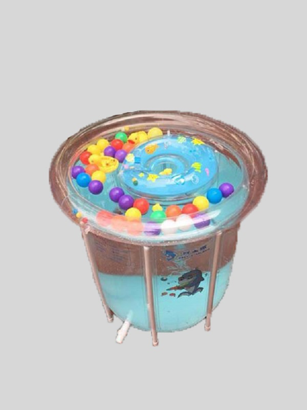 bể bơi trong suốt 80x80