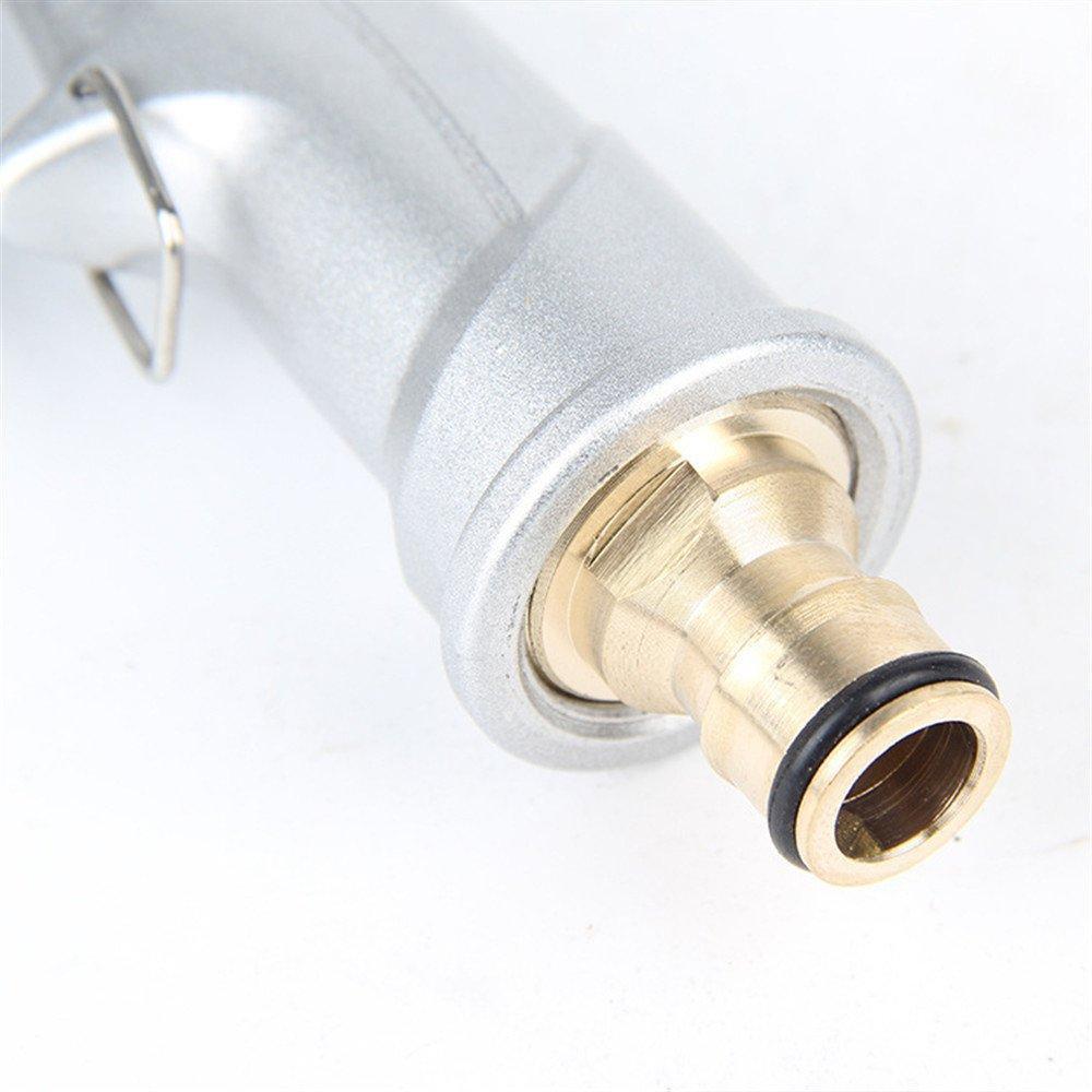 Bộ dây vòi xịt nước rửa xe, tưới cây đa năng, tăng áp 3 lần, loại 15m 206701 đầu đồng,cút+tặng đai