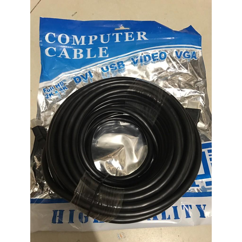 Dây HDMI 7.0 (14+1) VNET/ ARIGATO dài 1.5M- 3M- 5M Tròn Đen Full Hd 2Kx4K