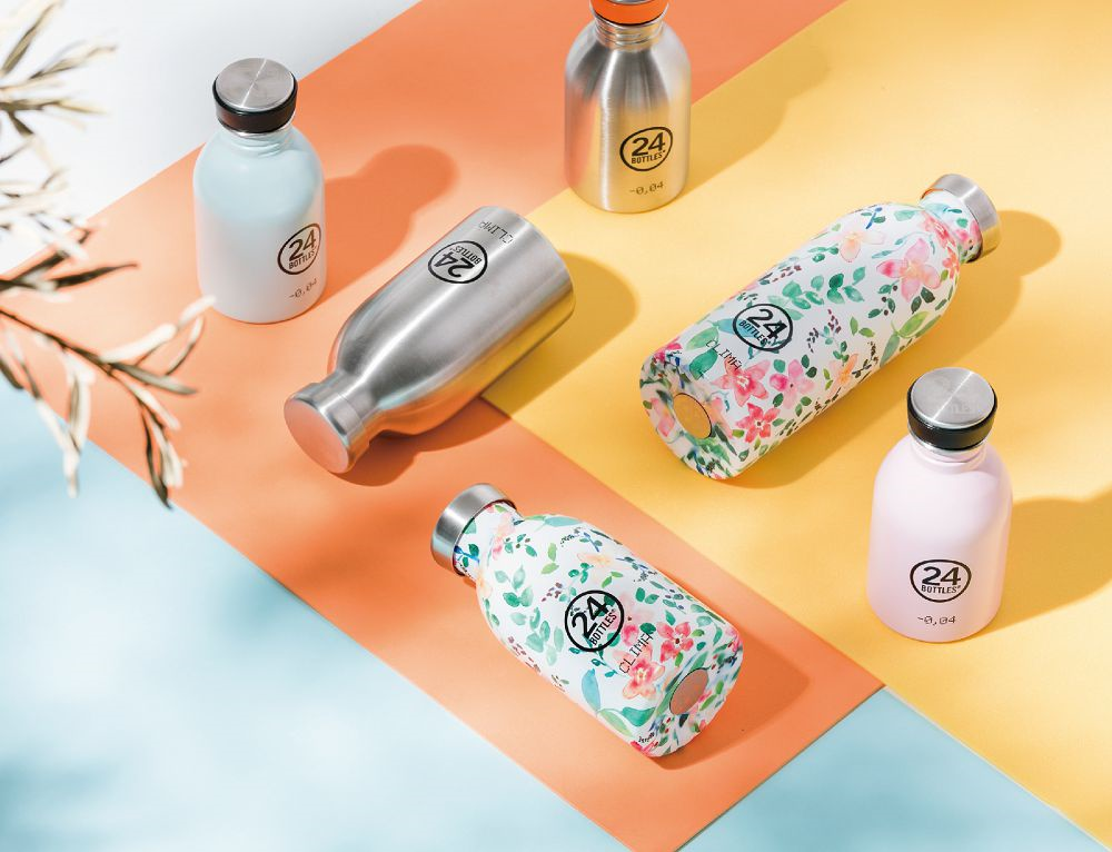 Bình giữ nhiệt chân không 24 Bottles Clima, dung tích 330ml, màu thép