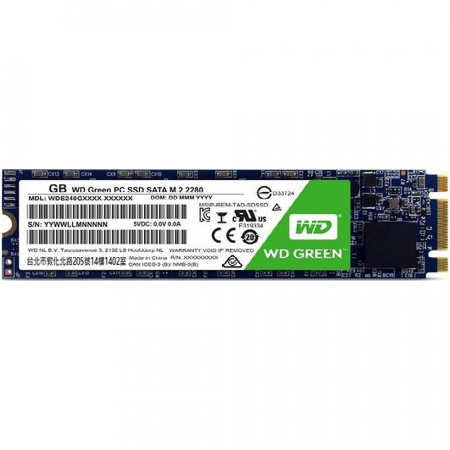 Ổ cứng SSD Western Digital Green M.2 2280 Sata III 120GB WDS120G2G0B - Hàng Chính Hãng