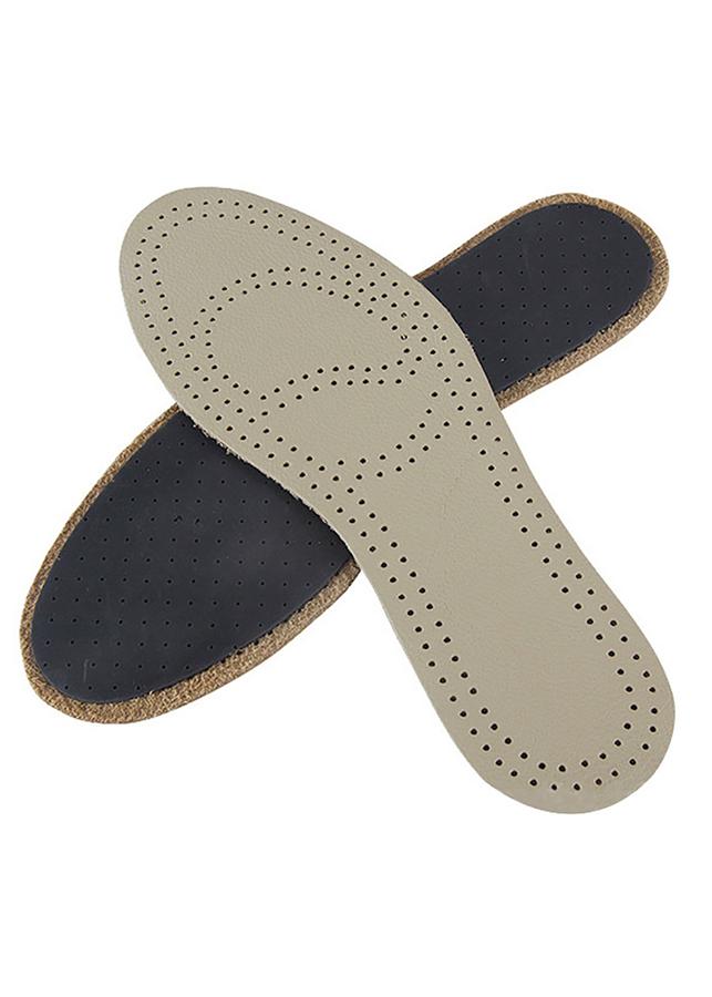 Bộ 1 Cặp Lót Giày Nam Da Bò ,Êm Chân Thoáng Khí Dùng Cho Mọi Loại Giầy LG011