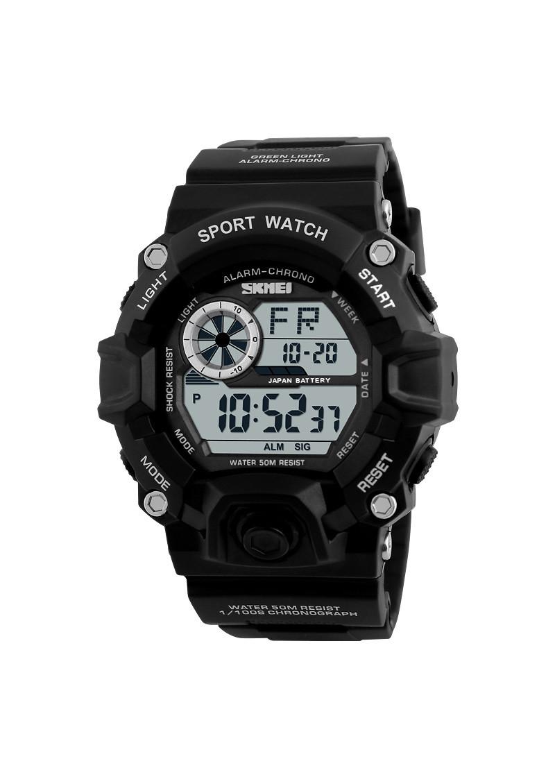 Đồng hồ đeo tay Skmei - 1019BK-Hàng Chính Hãng
