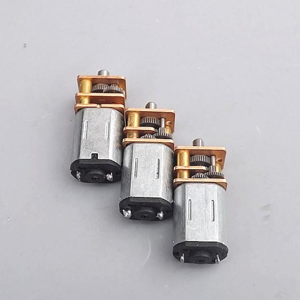 Động cơ motor mini giảm tốc N20 - DC3V-6V - bánh răng thép cực bền - LK0009