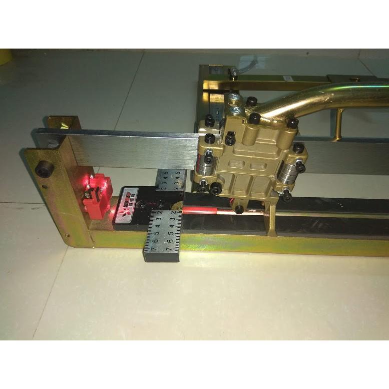Máy cắt gạch siêu cứng  bàn đẩy tay cao cấp XIDELE Đài loan cắt 82cm.