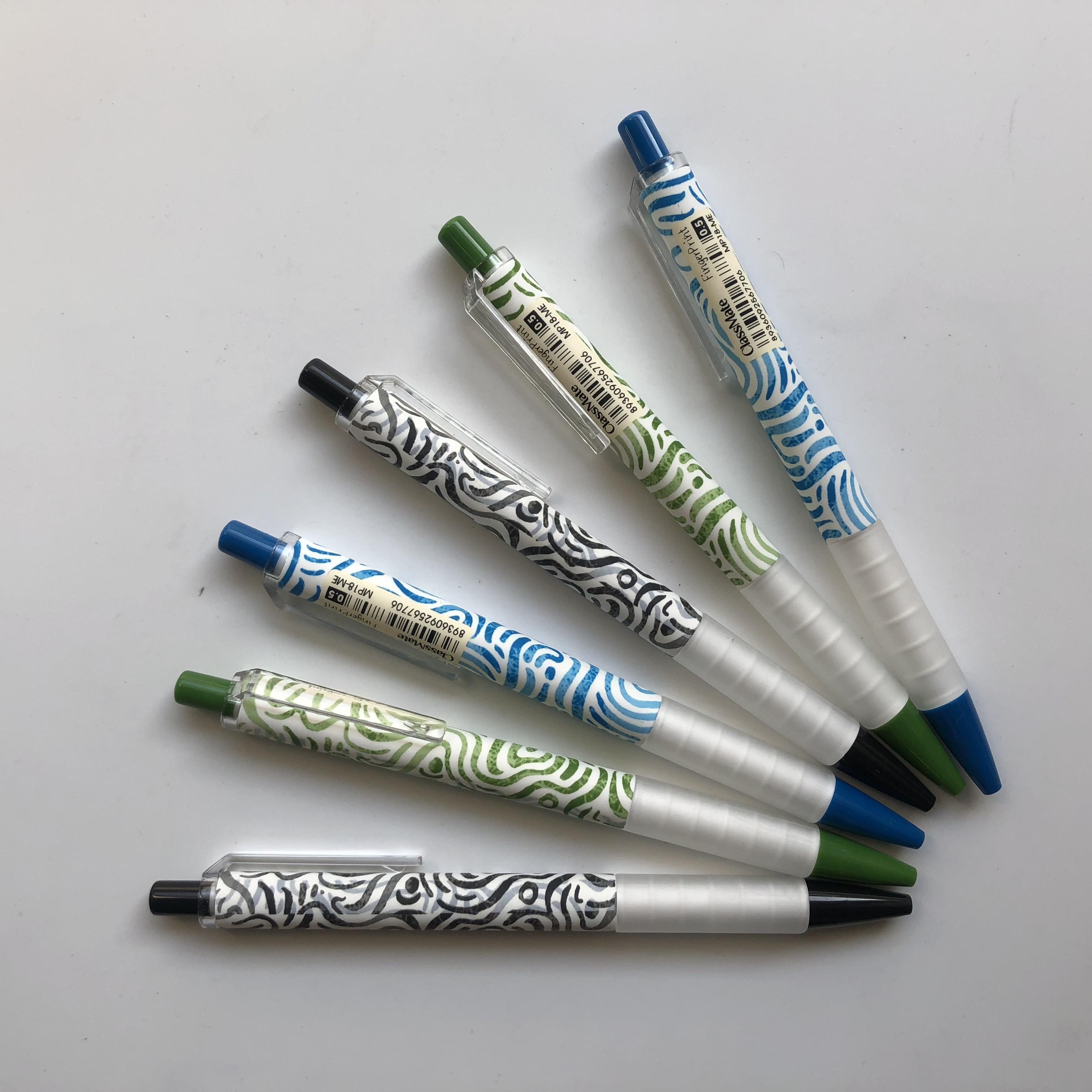 COMBO 6 cây Bút chì bấm MESSY 0.5mm