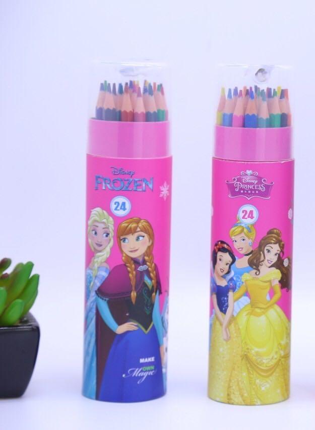 Bút chì 24 mầu cho bé gái (giao mầu ngẫu nhiên)