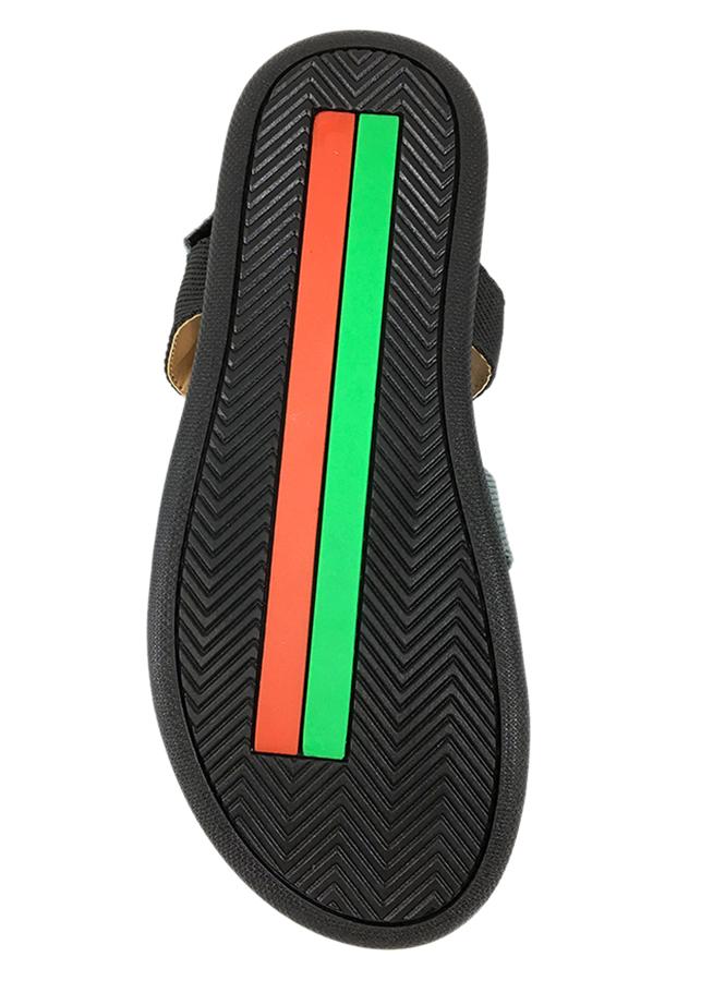 Giày Sandal 3 Quai Ngang Nam Everest EV12 A253 (Đen)