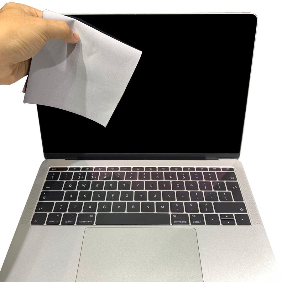 Khăn lau vệ sinh laptop sợi Microfilber hàng chính hãng