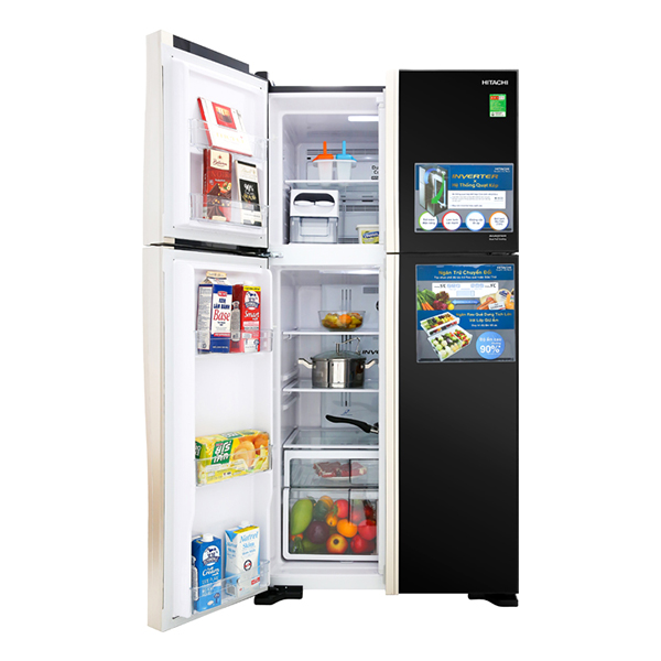 Tủ lạnh Hitachi Inverter 509 lít R-FW650PGV8-GBK