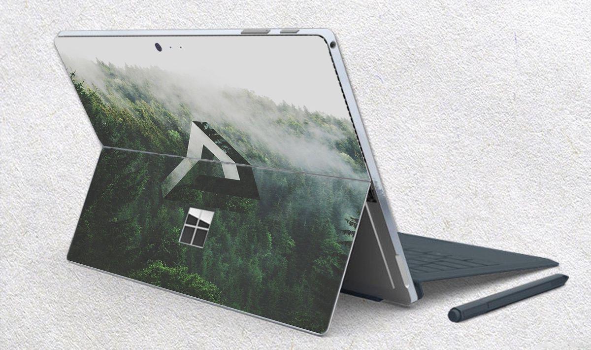 Skin dán hình Đa giác x11 cho Surface Go, Pro 2, Pro 3, Pro 4, Pro 5, Pro 6, Pro 7, Pro X