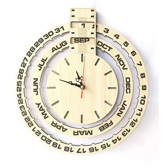 Đồng hồ treo tường vạn niên trang trí quà tặng độc đáo