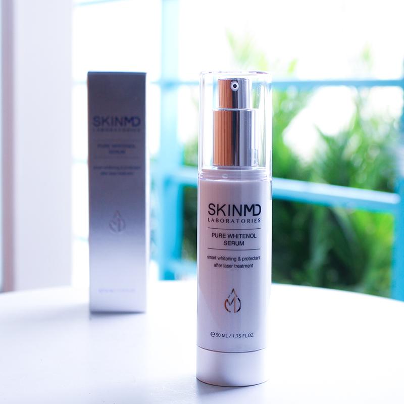 Serum trắng da giảm nám SkinMD Pure Whitenol Serum 50ml