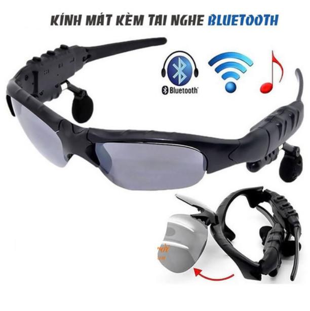 Kính Mắt Bluetooth Kiêm Tai nghe