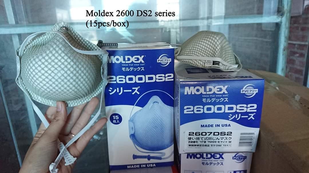 Khẩu trang chống bụi mịn Moldex 2600DS2 (combo 5 chiếc)