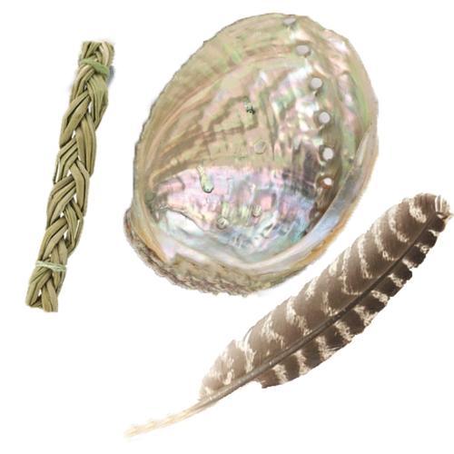 Sét phụ kiện đốt thảo dược để xông lá xô thơm - gỗ palo santo- bó thảo dược (Xem lựa chọn)