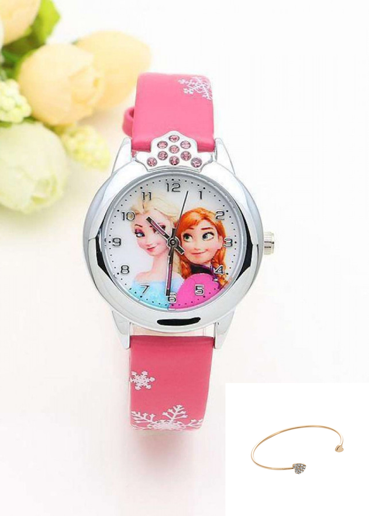 Đồng hồ trẻ em (TẶNG LẮC ĐEO TAY )