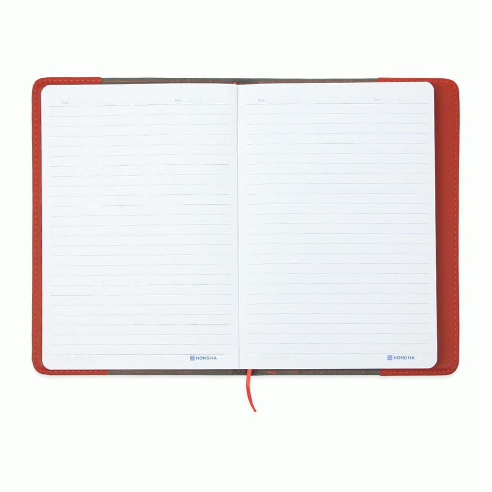 Sổ lịch da Hồng Hà Classic Book 200 trang B5 4598