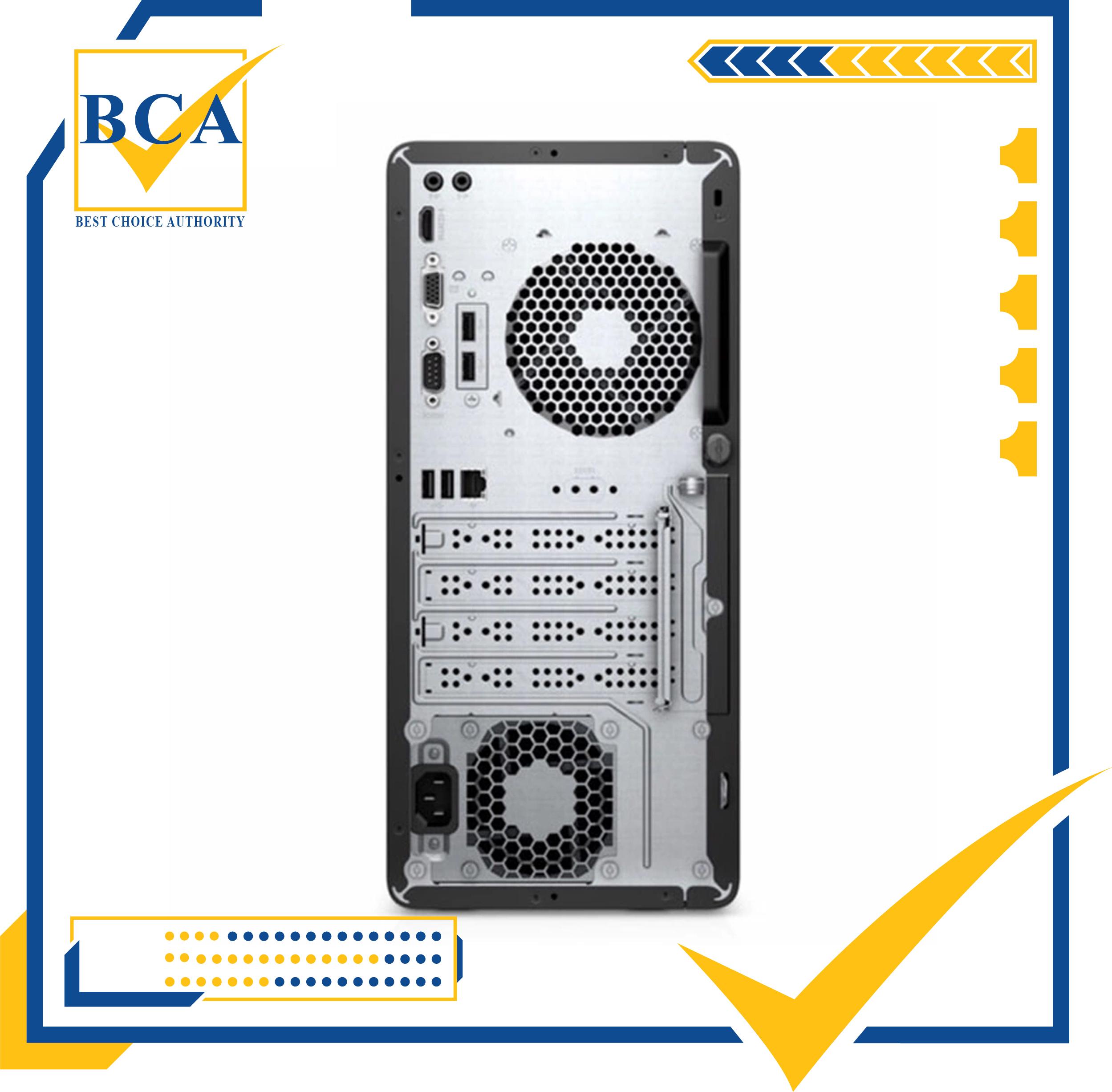 Máy tính để bàn HP 280 Pro G6 Microtower, Core i3-10100(3.60 GHz, 6MB)/4GB RAM/1TB HDD/Intel Graphics,/Win 10 Home 64 Bảo hành 1 năm (1C7Y3PA)- Hàng chính hãng