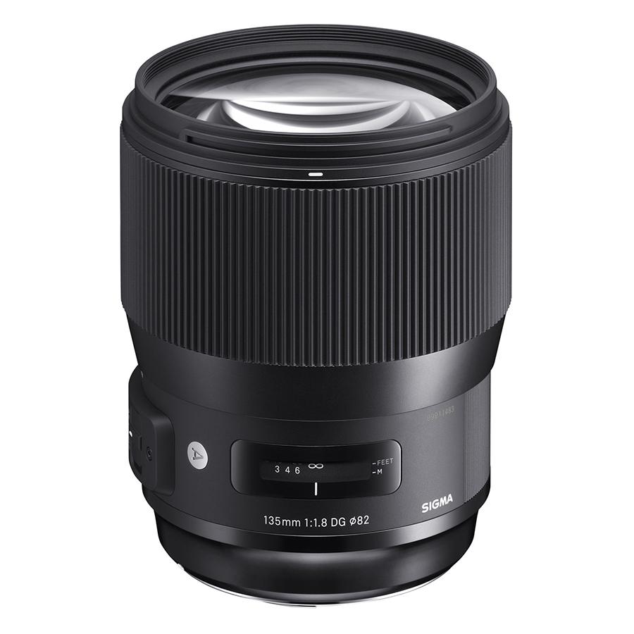 Ống kính Sigma 135 F1.8 DG HSM Art For Canon - Hàng chính hãng