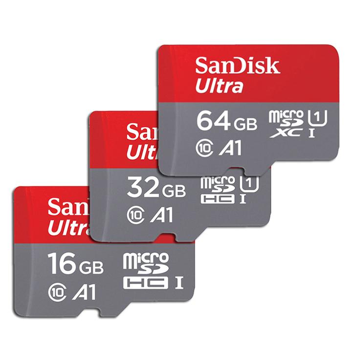 Thẻ nhớ MicroSD SanDisk Ultra Class10 A1 64GB 100Mb/s - Hàng chính hãng