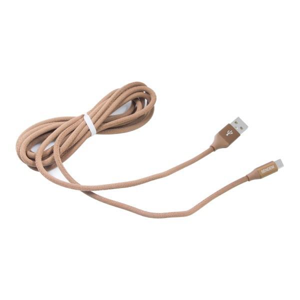 Cáp Micro USB Sendem M12 - ( Dài 2m ) - Hàng Chính Hãng (Giao màu ngẫu nhiên)