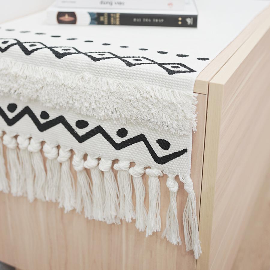 Khăn  Trải Bàn Boheime Make My Home 35 x 180 cm