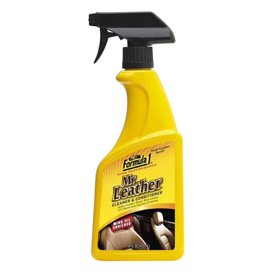 Chất Tẩy Sạch Bảo Dưỡng Da Dạng Xịt Formula1 Mr Leather (473ml)